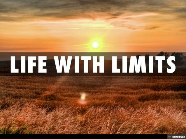 Life With Limits: Ethics and Biotechnology