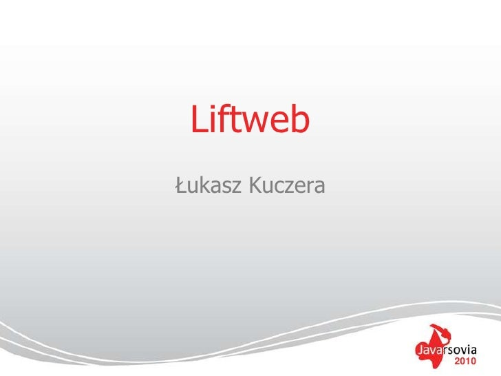 Scala and Lift presentation