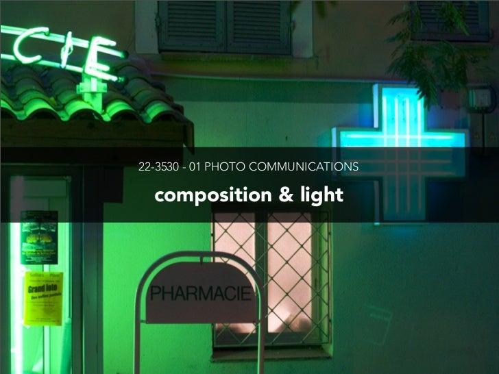 Composition & Light
