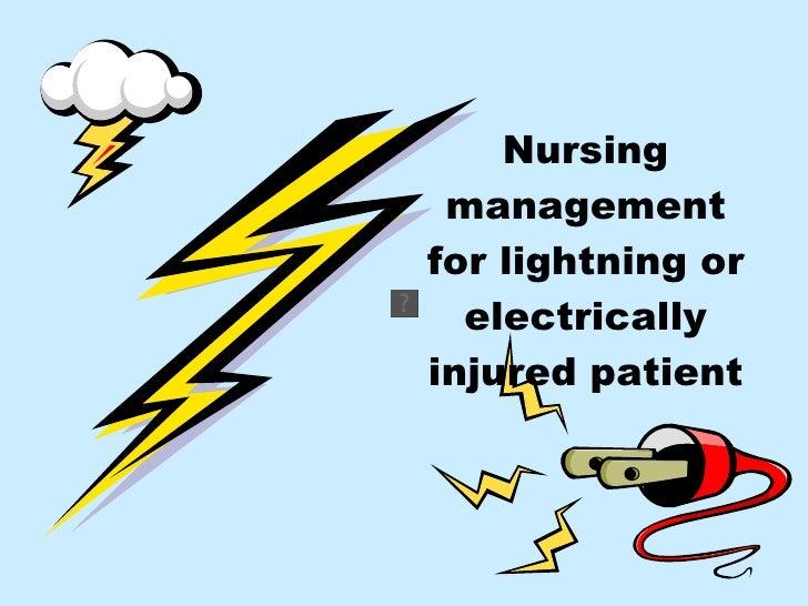Comparison: Lightning Injury,  Electrical Injury