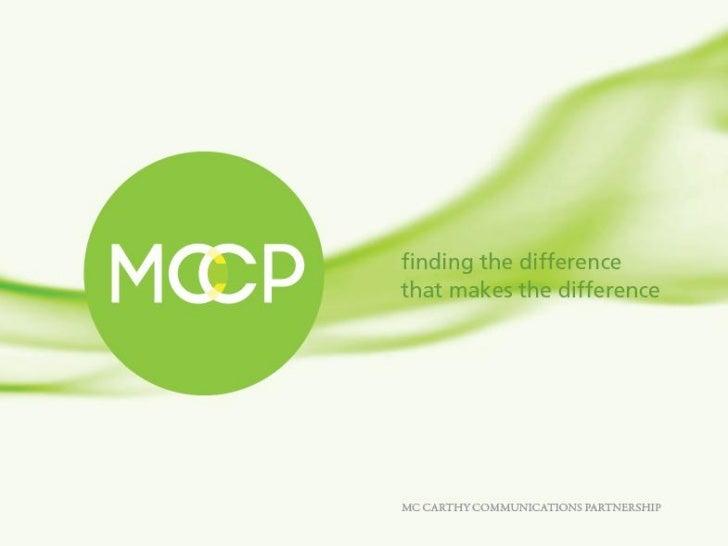 MCCP Lighthouse™ Quarterly Report