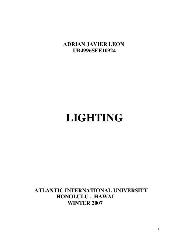 ADRIAN JAVIER LEON          UB4996SEE10924         LIGHTINGATLANTIC INTERNATIONAL UNIVERSITY      HONOLULU , HAWAI        ...