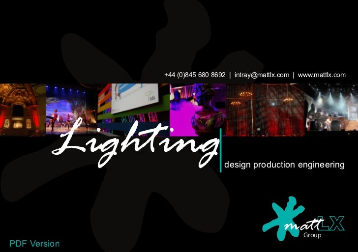 Lighting Brochure2012 (Pdf Version) Linked In