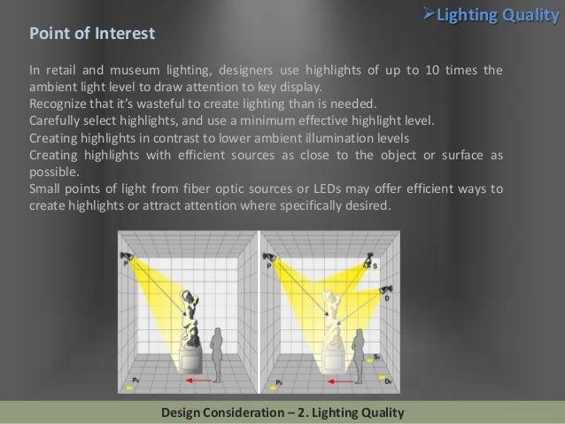 Image gallery interior lighting design standards for Interior design lighting principles