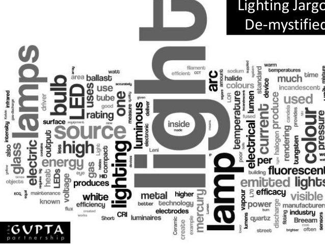 Lighting Jargo De-mystified