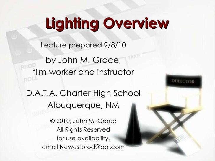 Lighting overview