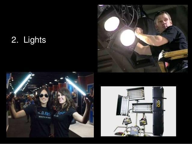 EMC 3130/2130 Lecture Six - Lighting Part 2 Lights