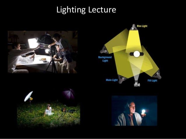 EMC 3130/2130 Lecture Six - Lighting Part 1 Light