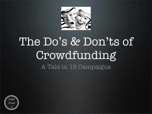 Lightning Talk - CrowdFunding
