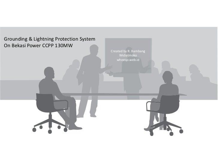 Lightning protection system on Bekasi Power Plant [beta]