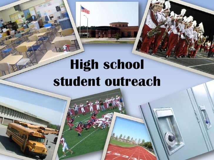 High school student outreach with active learning instruction