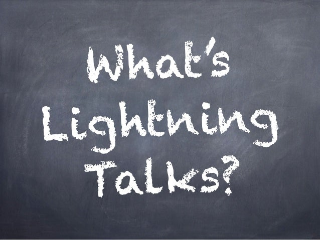 What's Lightning Talks in LT呑み会