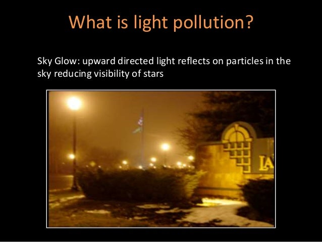 what is light pollution