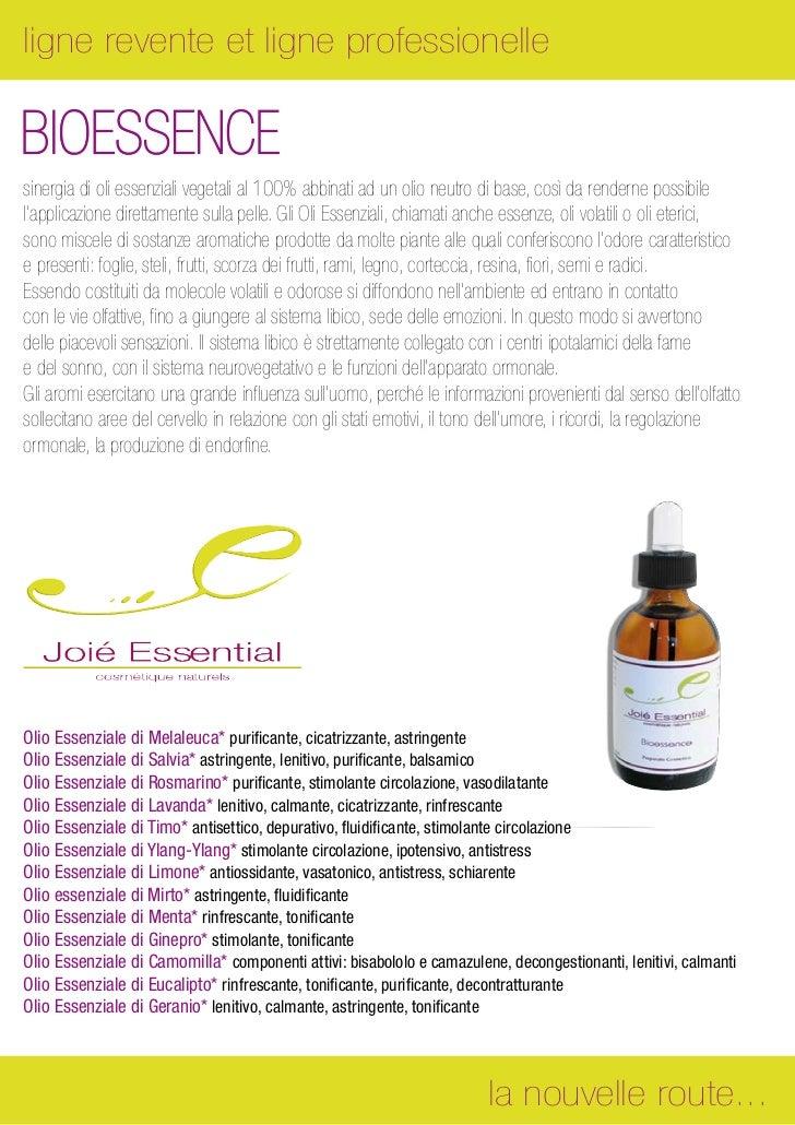 Ligne Bioessence Professionnelle - Joié Essential