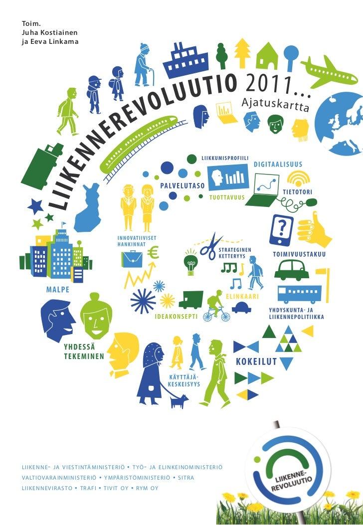 Liikennerevoluutio 2011  ajatuskartta