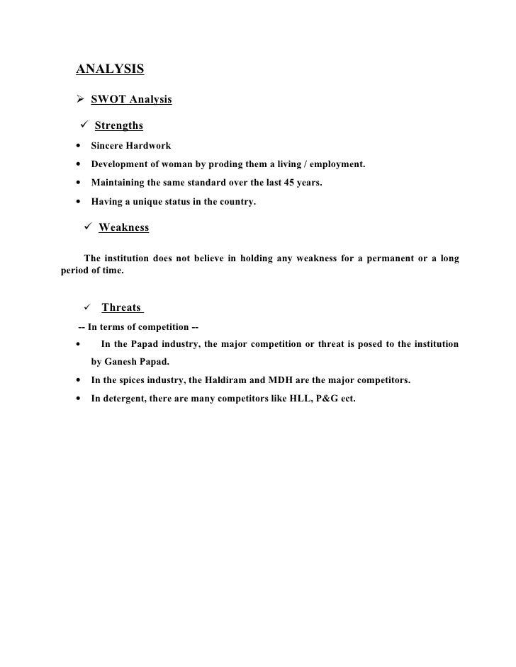 swot analysis of mdh spices Mission: to help mdh achieve their most ambitious marketing goals and  strategic  internal analysis swot analysis strengths - long history.