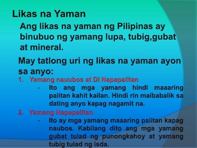 mga proyekto ng pamahalaan na nangangalaga ng mga likas na yaman