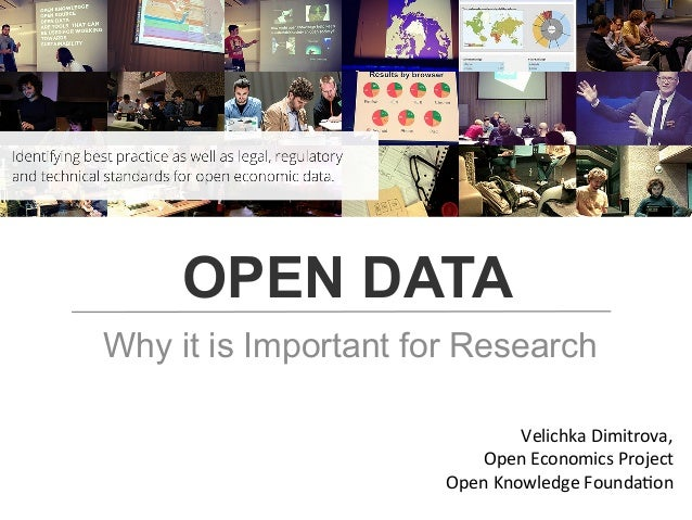 Open Data for Research