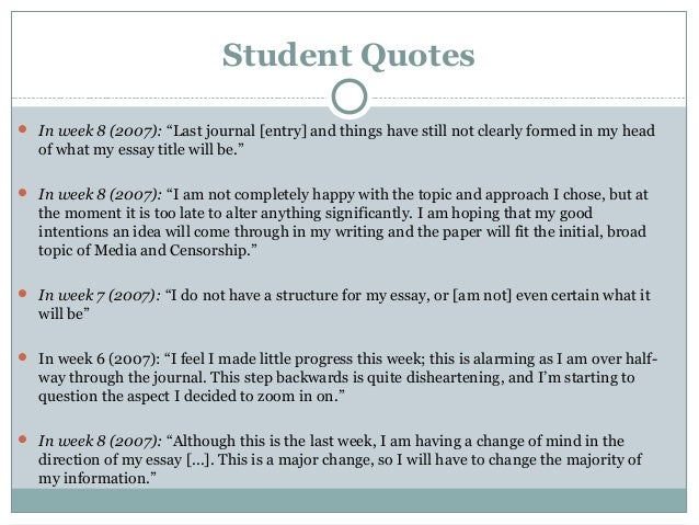 Quotes for college essays