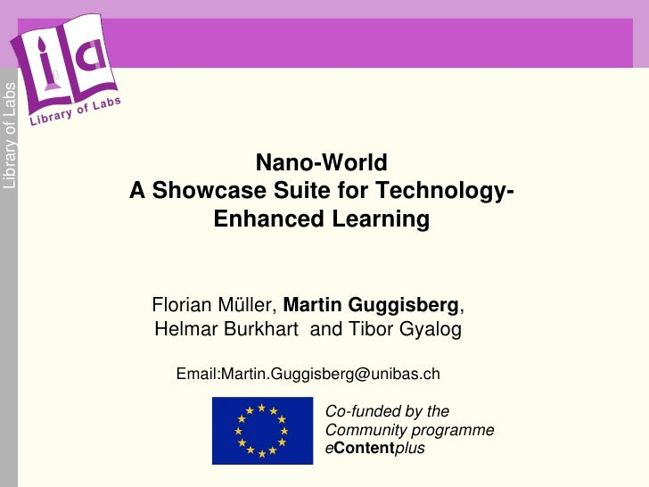 Library of Labs                                Nano-World                   A Showcase Suite for Technology-              ...
