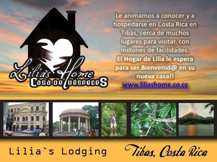 Le animamos a conocer y a hospedarse en Costa Rica en Tibás, cerca de muchos lugares para visitar, con millones de facilid...