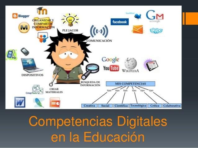 Competencias Digitales en la Educación