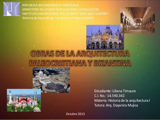 "REPUBLICA BOLIVARIANA DE VENEZUELA MINISTERIO DEL PODER POPULAR PARA LA EDUCACION INSTITUTO UNIVERSITARIO POLITECNICO ""SAN..."