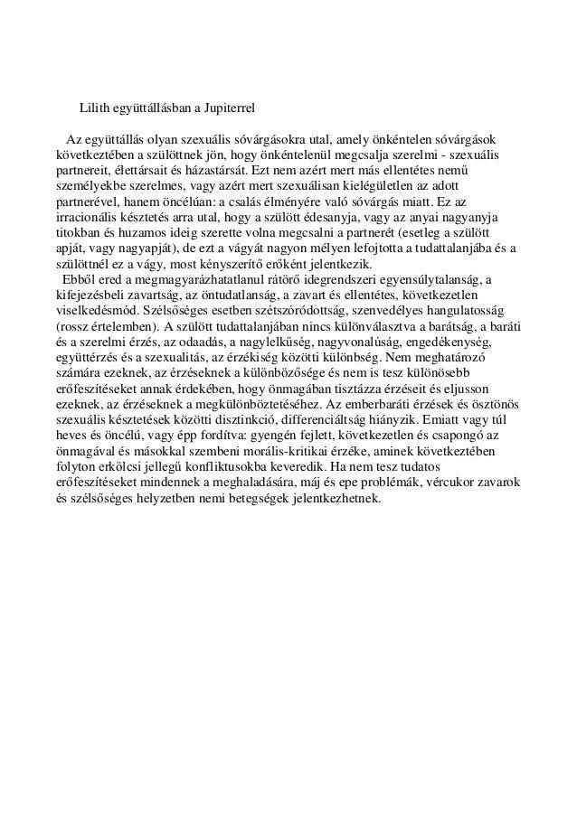 LiljupieKozma Szilárd karma-asztrológus: Az emberiség nagy titka a Lilit: