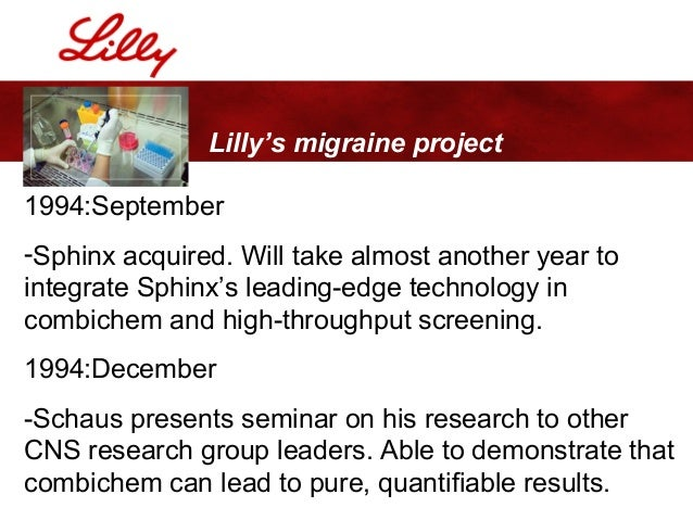 an analysis of the management earnings of eli lilly and company Eli lilly & co engages in the discovery, development, manufacture and sale of pharmaceutical products it operates through two segments: human pharmaceutical products and animal health.