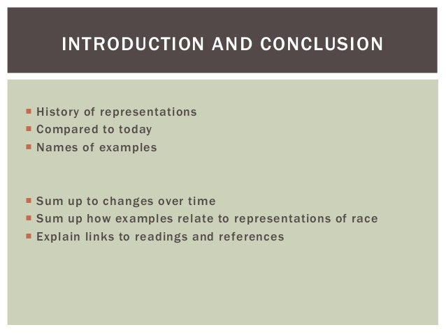 Introduction Conclusion Essay