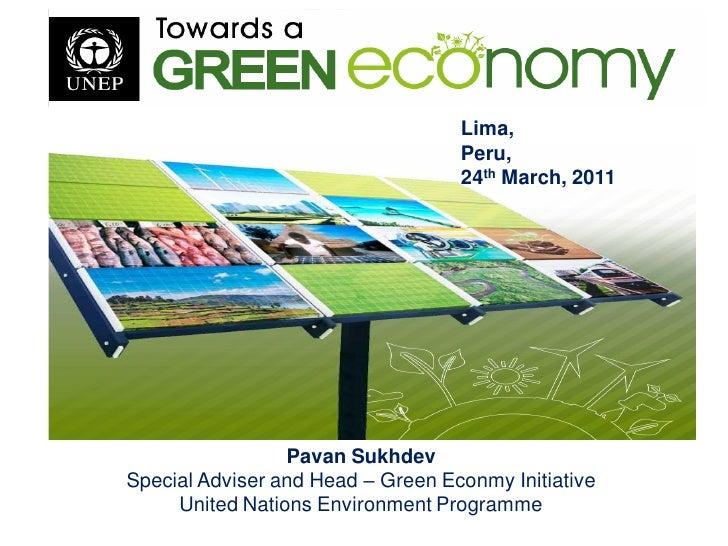 Towards a Green Economy