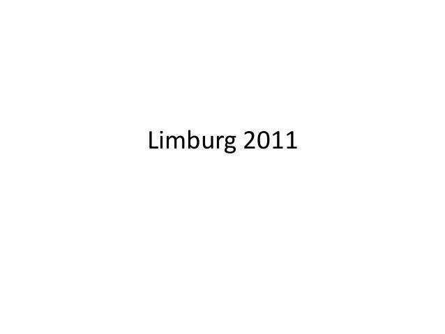 Limburg 2011