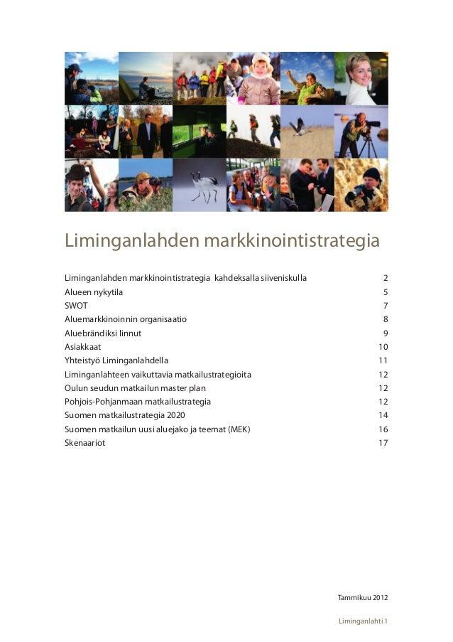 Liminganlahti markkinointistrategia-1-2012