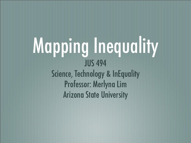 Lim Jus494mappinginequality