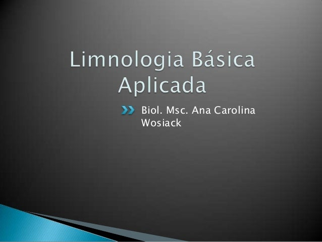 Biol. Msc. Ana Carolina Wosiack