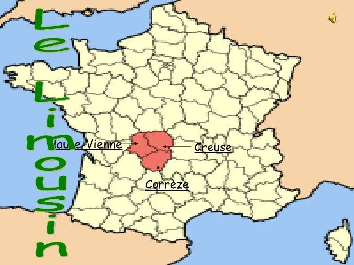Creuse Corrèze Haute-Vienne Le Limousin