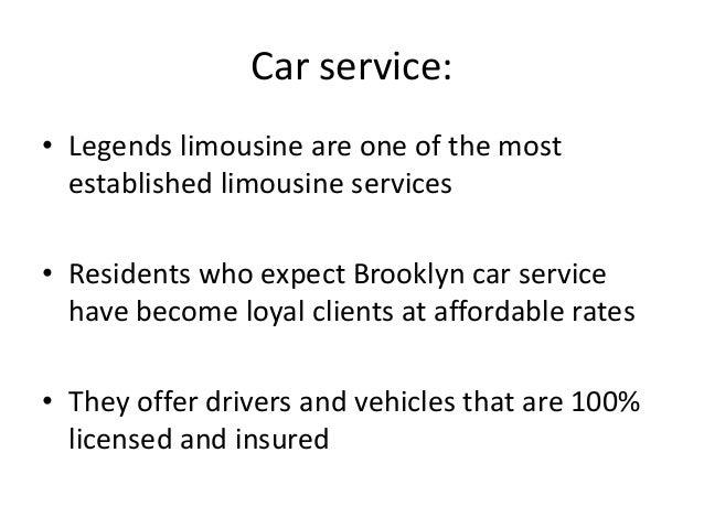 Legends Brooklyn Car Service