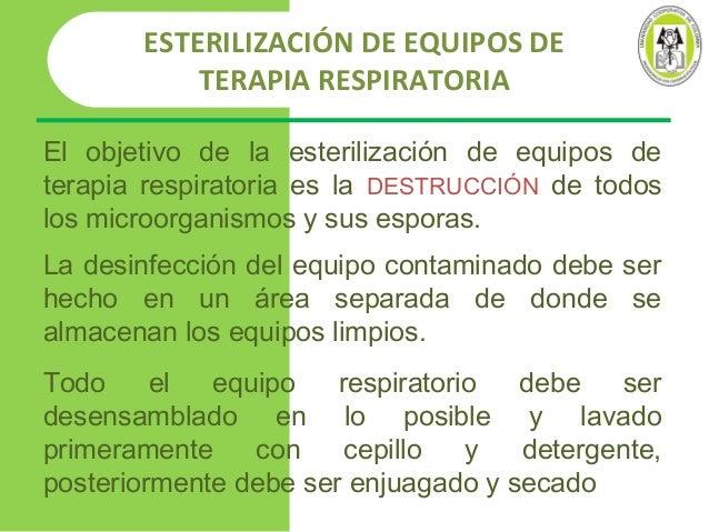 Limpieza desinfeccion aparatos respiratorios ucc Metodos de limpieza y desinfeccion en el area de cocina