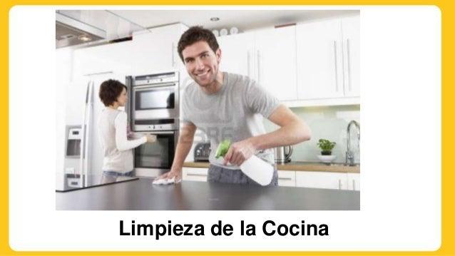 Principios de higiene en la tres areas especificas de la for La cocina en casa