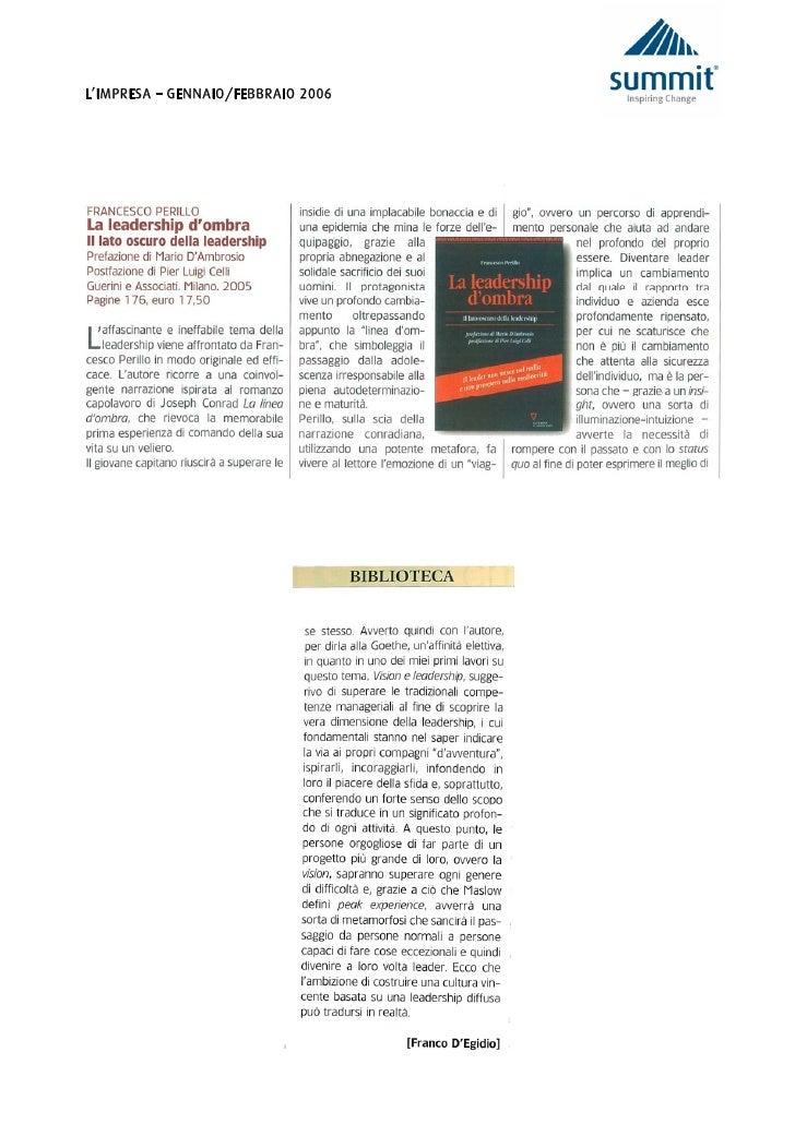 L'IMPRESA – GENNAIO/FEBBRAIO 2006