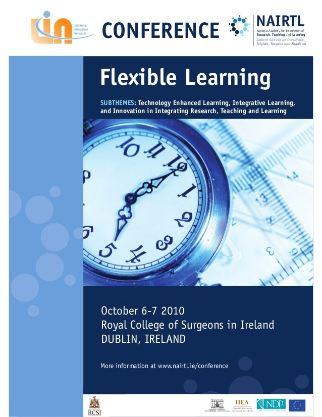 2010 Conference Book of Abstracts - Flexible Learning