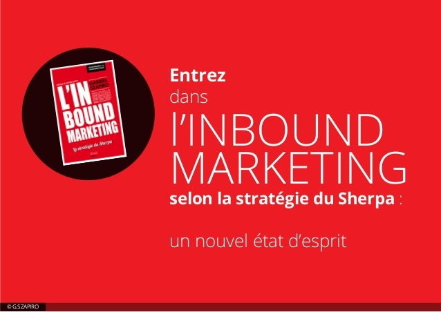 L'inbound marketing selon la stratégie du sherpa