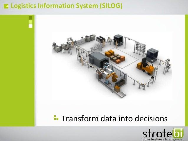 Logistics Information System (SILOG)ç Transform data into decisions