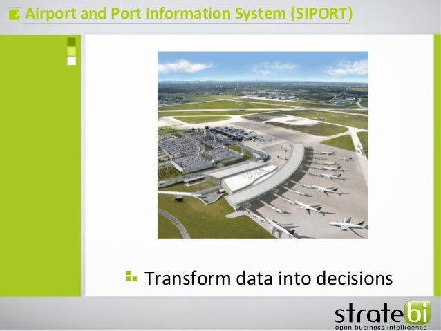 Ports and Airports open source Analytics