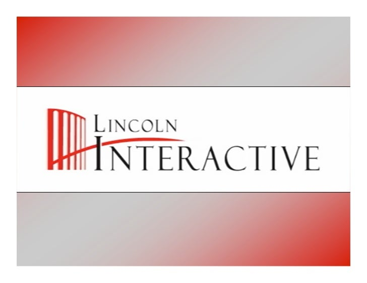 Lincoln Interactive   Training