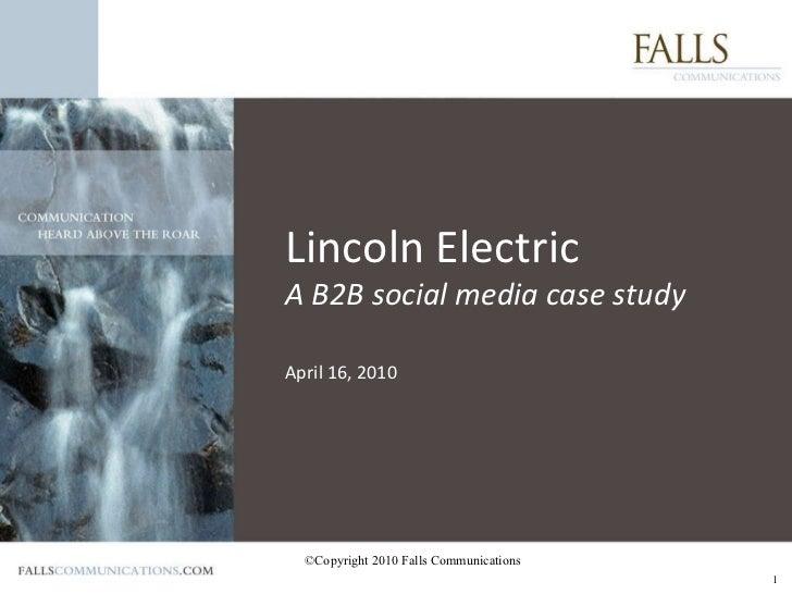 Lincolnsocialmediapresentation
