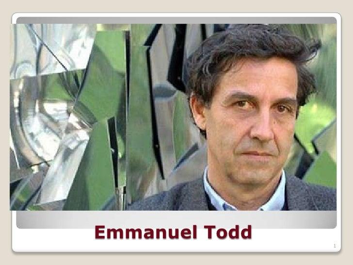 Emmanuel Todd                1