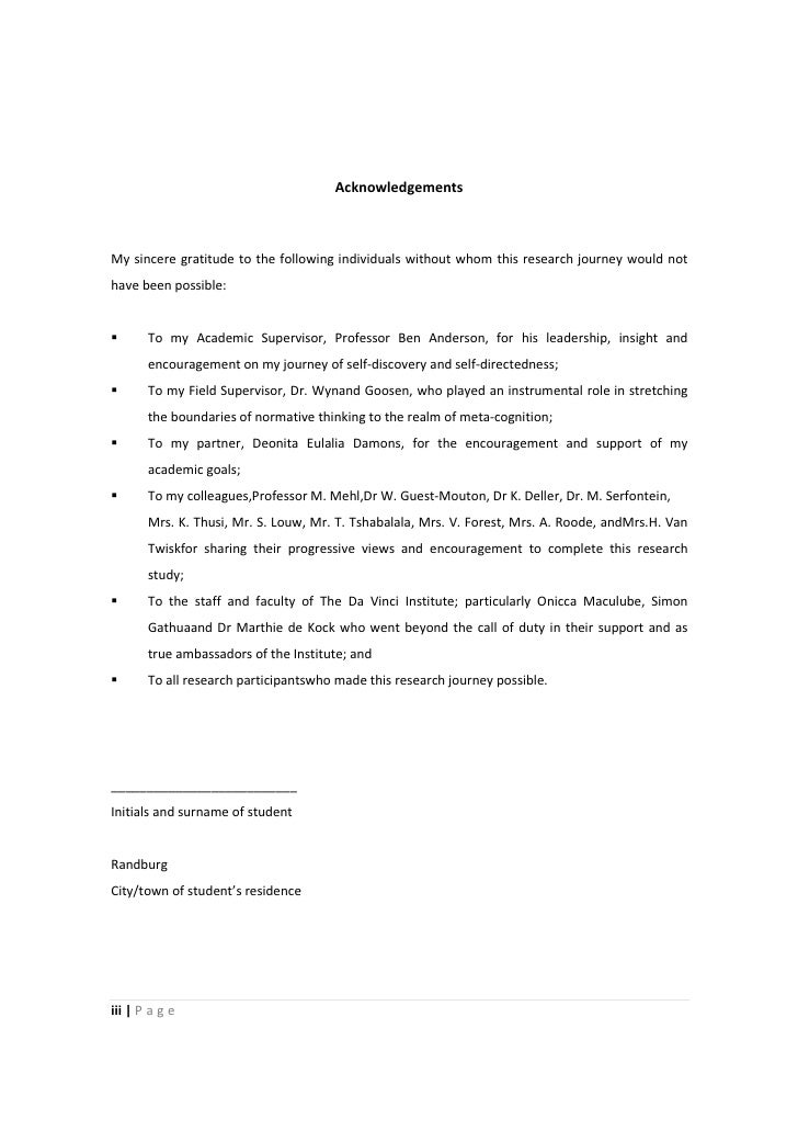 Educational leadership phd thesis