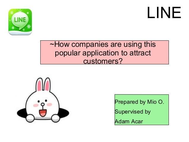 LINE, How Do Japanese Brands Use this Social Media Platform?