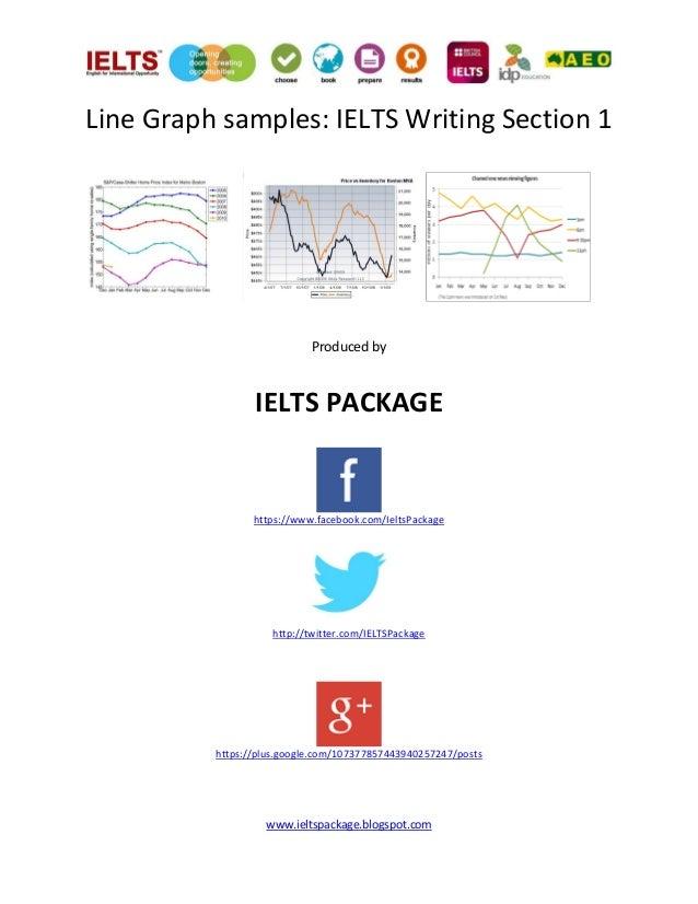 Line graph samples
